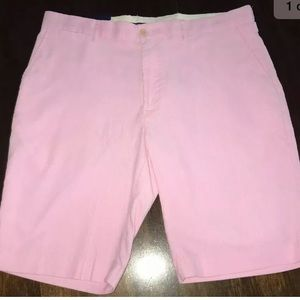 Ralph Lauren POLO Men's Pink Corduroy Shorts Sz 38